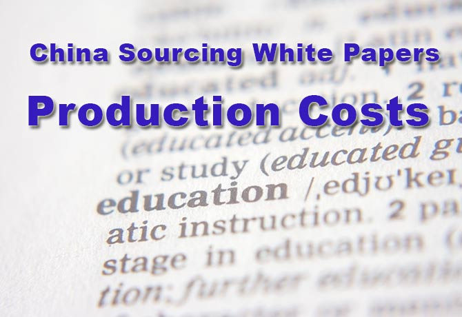 Production Costs In China
