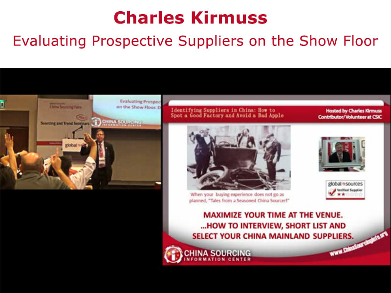 Evaluating Prospective Suppliers In China