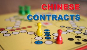 Chinese Contracts and Payments