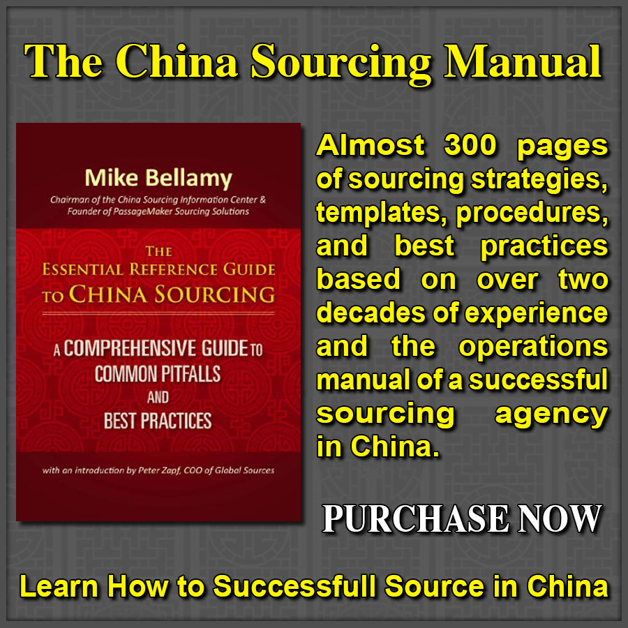 Book Guide To China Sourcing Wide